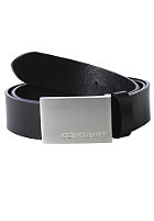 CARHARTT Army Leather Belt black/silver buckle