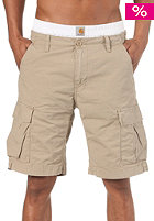 CARHARTT Aviation Bermuda Shorts Cotton Columbia Ripstop Horn stone washed
