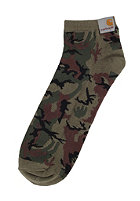 CARHARTT Basic Shorty Socks camo green