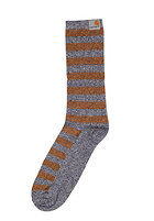 CARHARTT Basic Socks blue heather/ carhartt brown heather
