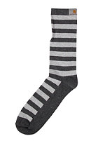 CARHARTT Basic Socks dark grey hth/light grey hth