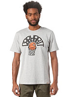 CARHARTT Basketball Net S/S T-Shirt grey heather/multicolor