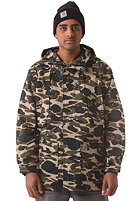 CARHARTT Battle Parka camo isle rigid