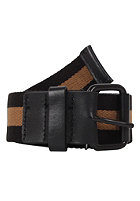 CARHARTT Bazooka Belt black/carhartt brown/latigo