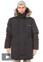 CARHARTT Bering Parka Nylon Oxford down filled black/grey
