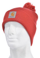 CARHARTT Bobble Watch Beanie blast red