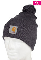 CARHARTT Bobble Watch Cap navy heather/ black