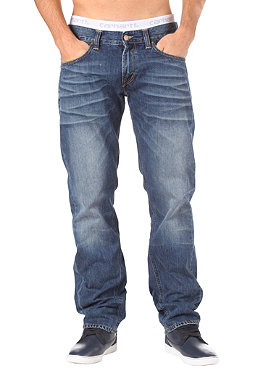 CARHARTT Bronco Pant trona denim blue rugged washed