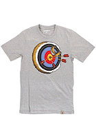 CARHARTT Bullseye S/S T-Shirt grey heather/multicolor