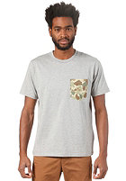 CARHARTT Camouflage Pocket S/S T-Shirt grey heather/camou outdoor