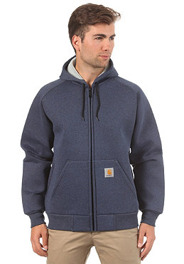 CARHARTT Car-Lux Hooded Thermo Sweat navy heather/grey