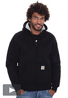 CARHARTT Car-Lux Thermo Hooded Zip Sweat black/grey 