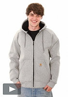 CARHARTT Car-Lux Thermo Hooded Zip Sweat grey heather