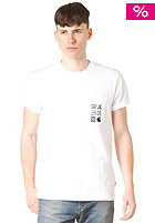 CARHARTT Care Label Pocket S/S T-Shirt white/black