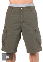 CARHARTT Cargo Bermuda Shorts Columbia Ripstop cypress stone washed
