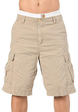 CARHARTT Cargo Bermuda Shorts Columbia Ripstop horn stone washed