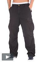 CARHARTT Cargo Pant Columbia Cotton Ripstop 6,5oz black stone washed