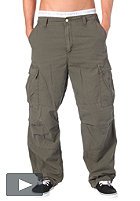 CARHARTT Cargo Pant Columbia Cotton Ripstop 6,5oz cypress stone washed