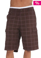 CARHARTT Carrier Bermuda Shorts tobacco check