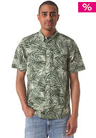 CARHARTT Cayman S/S Shirt planet palm print, rinsed