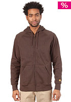 CARHARTT  Chase Hooded Jacket dark brown