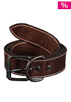 CARHARTT Chop Leather Belt dark brown
