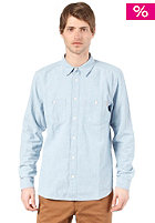 CARHARTT Clink L/S Shirt blue super bleached
