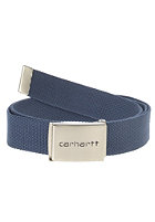 CARHARTT Clip Chrome Belt blue penny