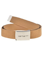 CARHARTT Clip Chrome Belt hamilton brown