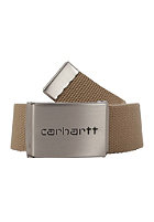 CARHARTT Clip Chrome Belt leather