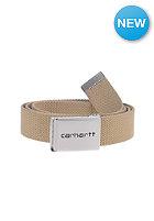 CARHARTT Clip Chrome Belt leather