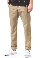 CARHARTT Club Chino Pant leather rinsed