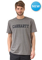 CARHARTT College S/S T-Shirt dark grey heather/duke blue