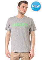 CARHARTT College S/S T-Shirt grey heather/linegreen