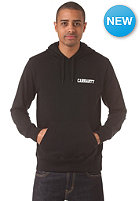 CARHARTT College Script Hooded Sweat black/white