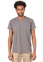 CARHARTT College Script S/S T-Shirt dark grey heather/ alpine