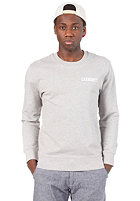 CARHARTT College Script Sweat grey heather/white