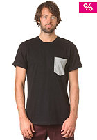 CARHARTT Contrast Pocket S/S T-Shirt black/grey heather