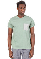 CARHARTT  Contrast Pocket S/S T-Shirt bog heather/grey heather