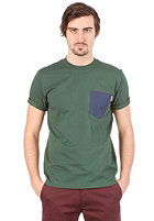 CARHARTT  Contrast Pocket S/S T-Shirt nature/blue