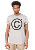 CARHARTT  Copyright S/S T-Shirt grey heather/black