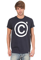 CARHARTT Copyright S/S T-Shirt navy/white