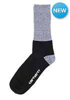 CARHARTT Dixon Socks light grey heather/black