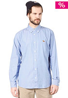 CARHARTT Duck L/S Shirt Oxford Cirrus blue heavy rinsed