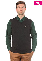 CARHARTT Duck Spencer Woolsweat black heather/carhartt brown