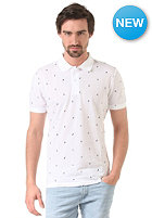 CARHARTT Economy Polo Shirt economy print, white/black
