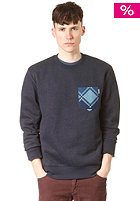 CARHARTT Elias Pocket Sweatshirt navy heather/navy
