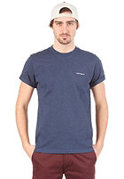 CARHARTT Embroidery S/S T-Shirt navy heather/black