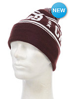 CARHARTT Fan Beanie bordeaux/white