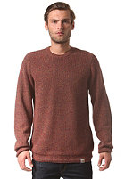 CARHARTT Fisher Knit Sweat jupiter tuscany heather patch: jet